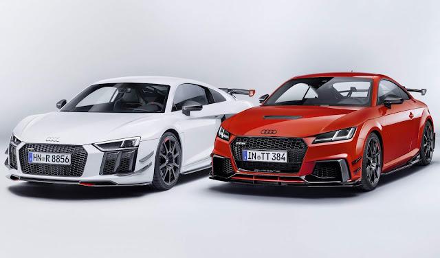 Audi Sport lança kit aerodinâmico para R8 e TT
