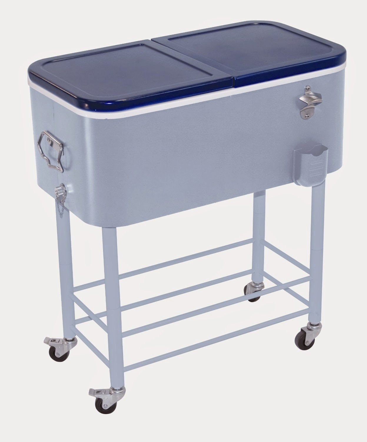 Nice Rio Brands Rolling Party Cooler