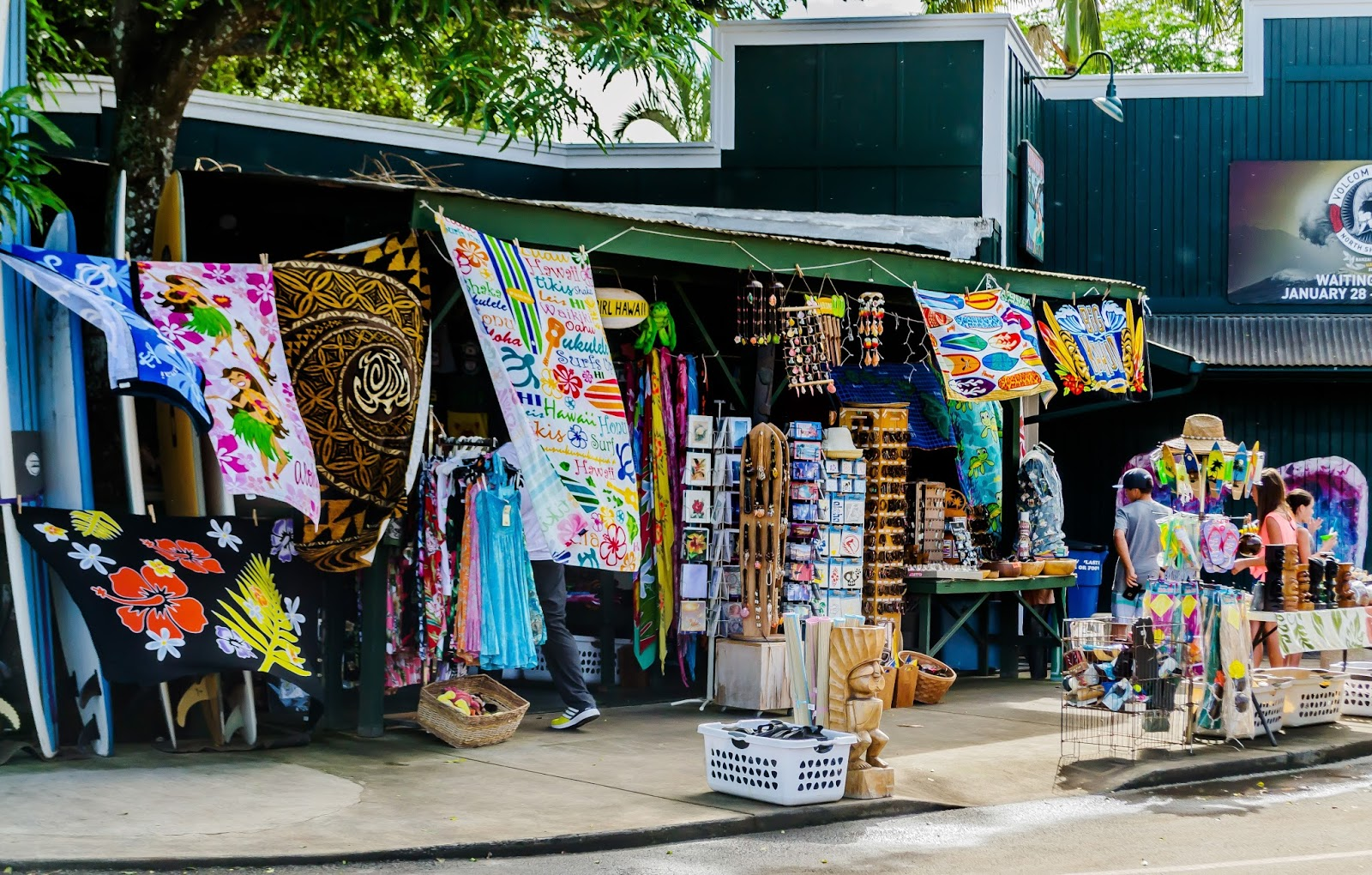 Shops in Haleiwa, North Shore, Oahu