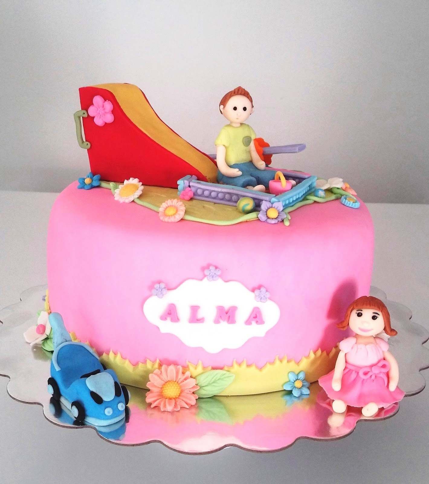 Cakesophia Almas Second Birthday Cake