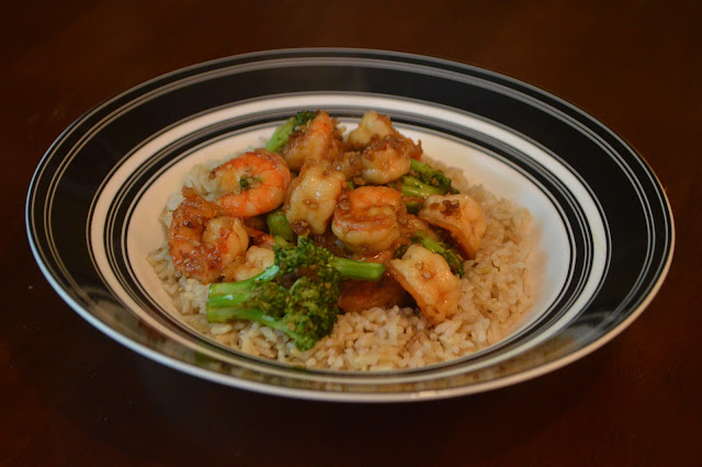 Easy Teriyaki Shrimp and Broccoli