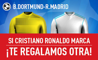 sportium promocion 25 euros Dortmund vs Real Madrid 26 septiembre