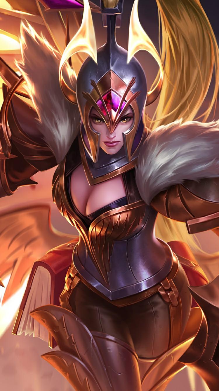 Wallpaper Freya War Angel