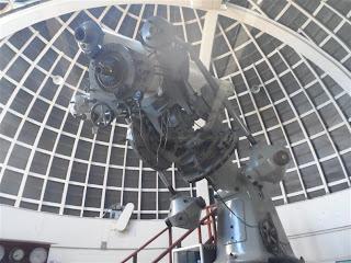 Telescópio do planetário