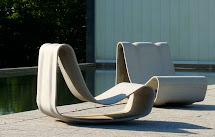 Concrete Loop Modern -quality Outdoor-furniture Design