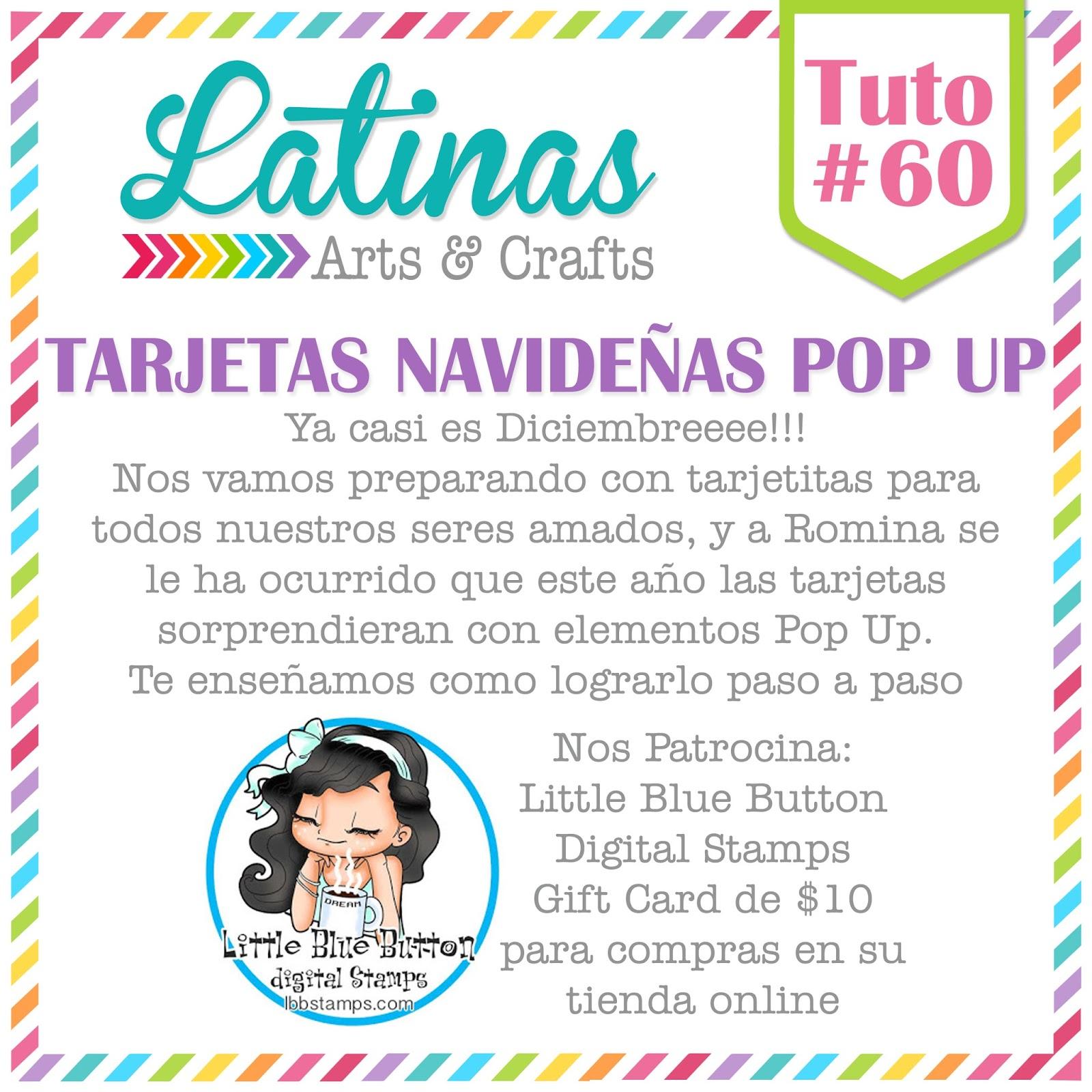 Hacer Tarjetas Navidenas Online Con Fotos.Latinas Arts And Crafts Noviembre 2016