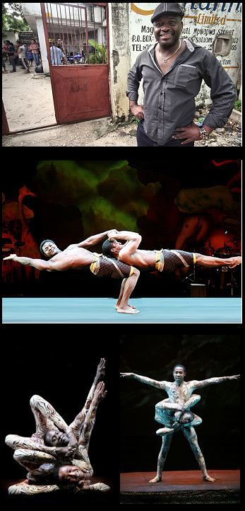Top photo: Winston Ruddle also known as Papa Africa Middle and bottom photos: Circus Mama Africa Performances