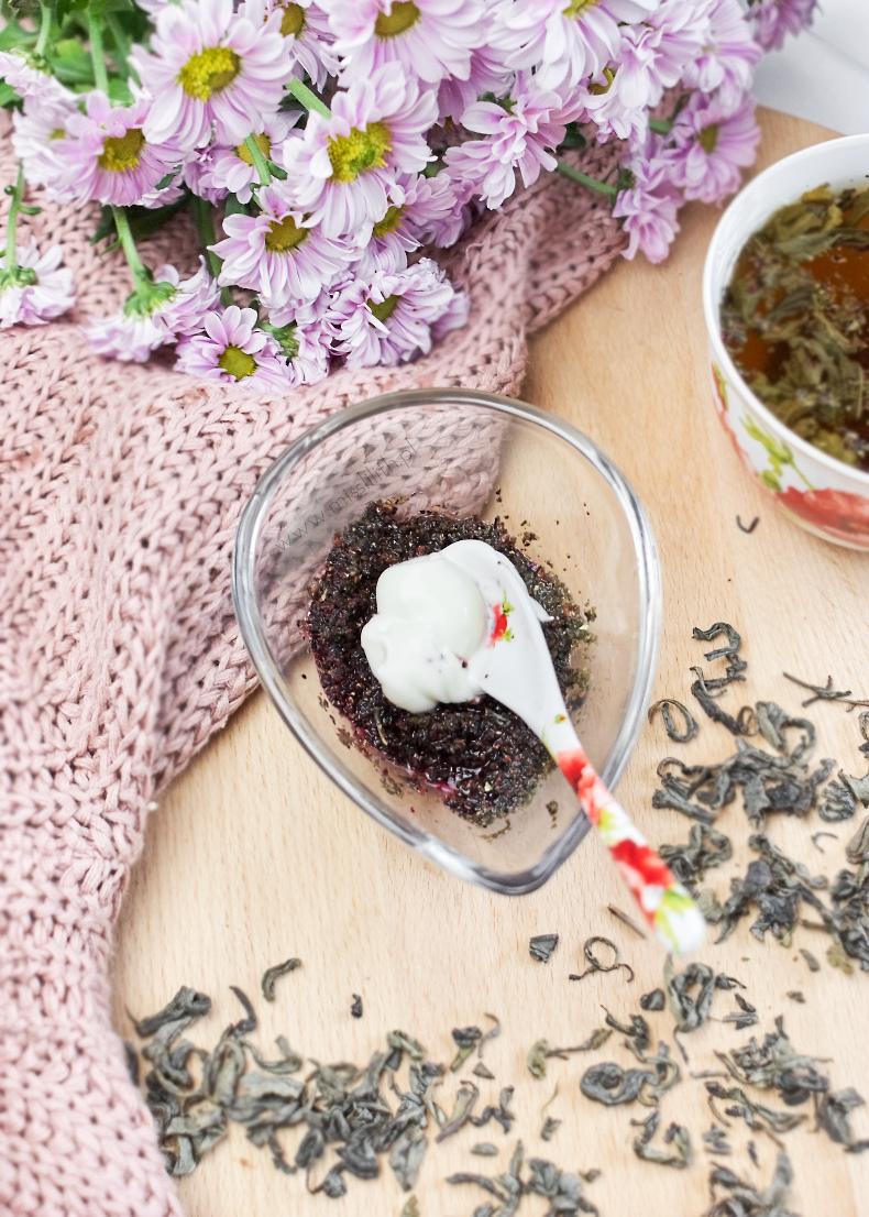 domowa maseczka z herbaty przepis blog