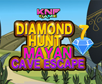 KnfGame Diamond Hunt 7 Mayan cave Escape