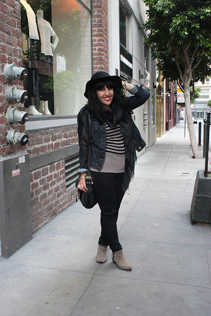LE TOTE Fall SF Style Blogger Outfit