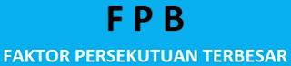 Contoh Soal Mencari FPB