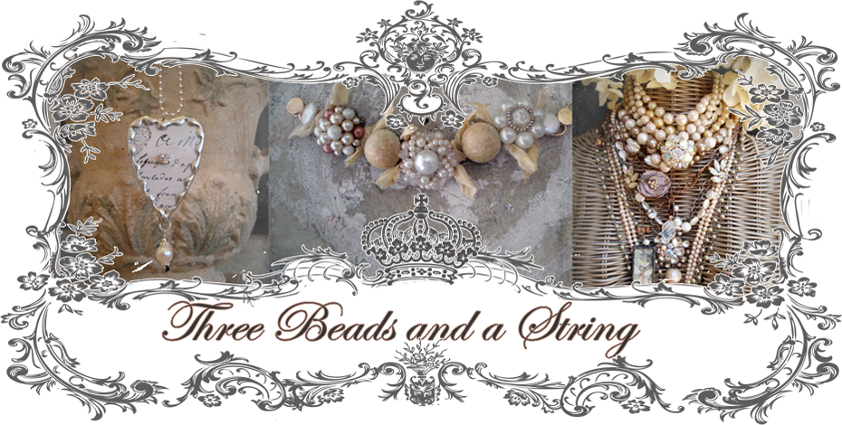 Three Beads and a String                                             by Patti Pruhs