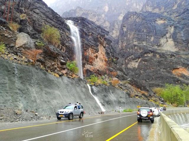 بالصور: وادي بني عوف #الرستاق...