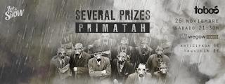 Concierto de Several Prizes y Primatah en Sala Taboó
