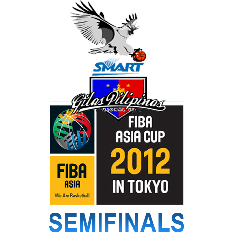 Semifinals Live Streaming of FIBA Asia Cup 2012 in Tokyo, Japan - September 21, 2012