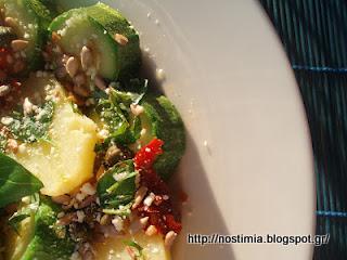 Η μεταμόρφωση μιας απλής σαλάτας βραστών λαχανικών - A new version of boiled veggies salad