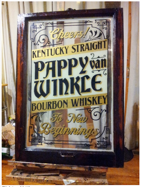Custom Indian Motorcycle For Sale >> Signs By Bean: Pappy Van Winkle Kentucky Straight Bourbon ...