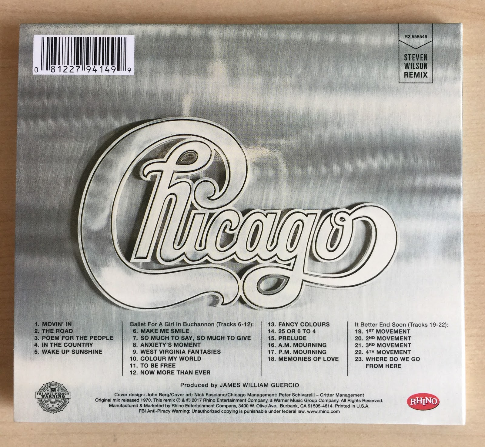 Sounds Good Looks Good Chicago From 1970 Aka Chicago Ii