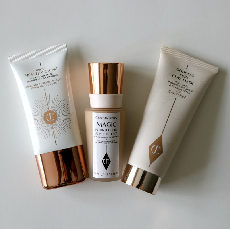Charlotte Tilbury Magic Foundation Unisex Healthy Glow Magic Foundation Goddess Skin Clay Mask