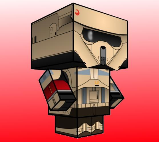 Star Walker Easy Wars Papercraft
