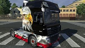 DAF Polish Patriotic skin mod