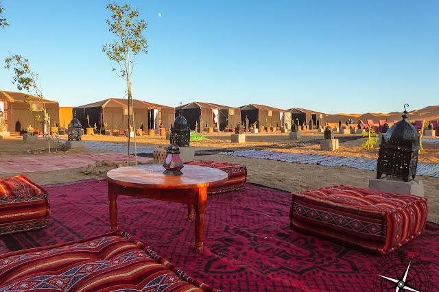 haimas en el desierto de Alí el Cojo