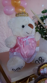 decoração tema ursa princesa
