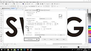 Cara Print Ukuran Besar Dengan Printer F4 - Tutorial Coreldraw