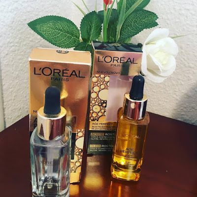 aceite fascial, aceite age perfect, loreal paris,
