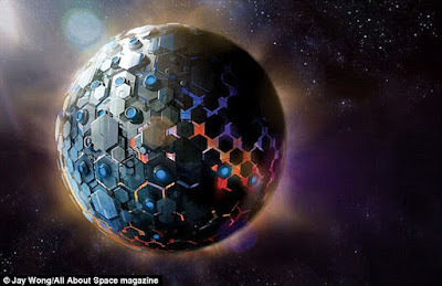 """Scientists may have Discover an alien MEGASTRUCTURE: """"Bizarre"""" star might be surrounded by a Dyson sphere built by extraterrestrials,"""