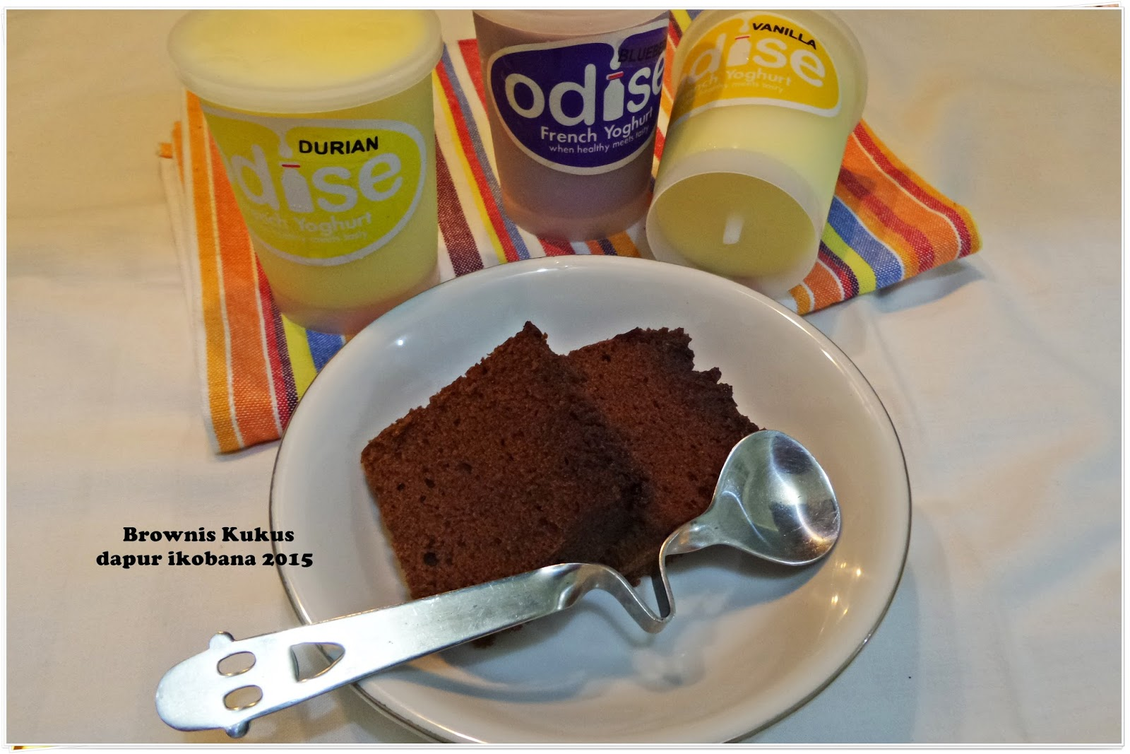 Resep Cake Coklat Kukus Ncc: DAPUR IKOBANA: BROWNIS KUKUS COKLAT