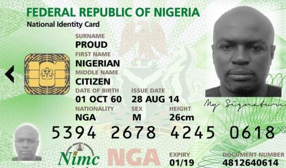 NIMC National ID Card Is Out - Check If Yours Is Ready - From SEPT 2011 - APR 2018