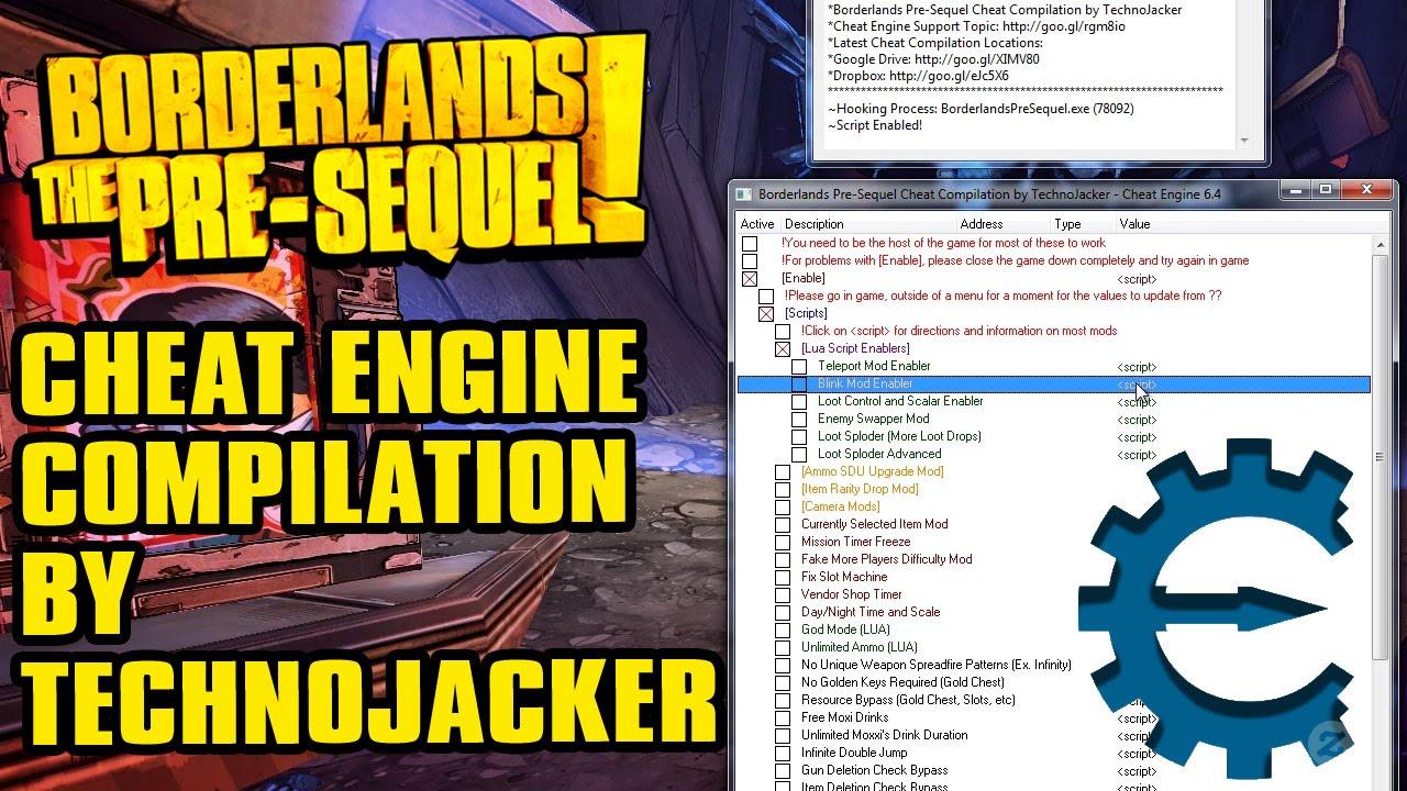 Borderlands 2 Slot Machine Cheat Engine