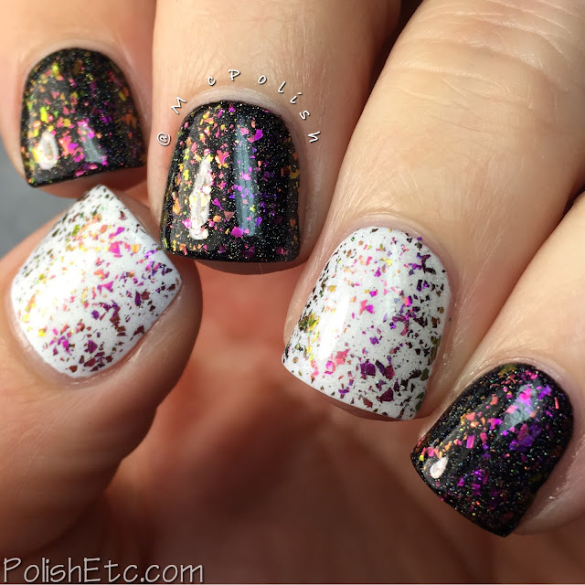 Top Shelf Lacquer - Holiday Flake Out Collection - McPolish - Winter Ruby