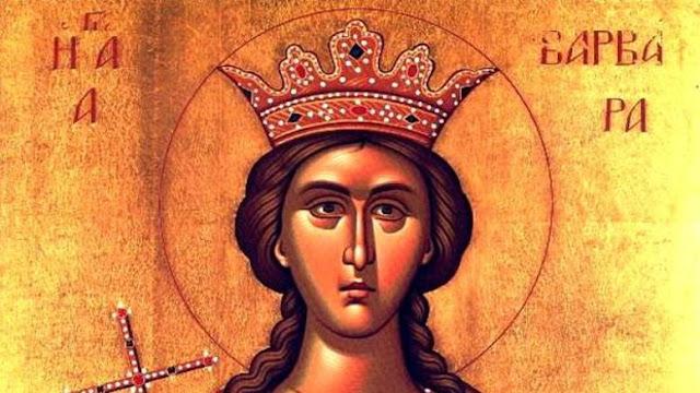 Αγία Βαρβάρα η μεγαλομάρτυς απ' τη Μερζιφούντα, Αμάσειας του Πόντου