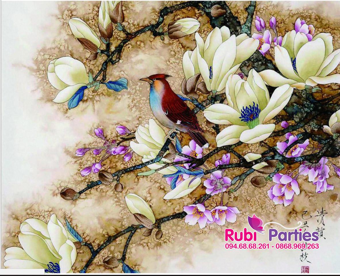 Tranh son dau so hoa o Thuong Tin