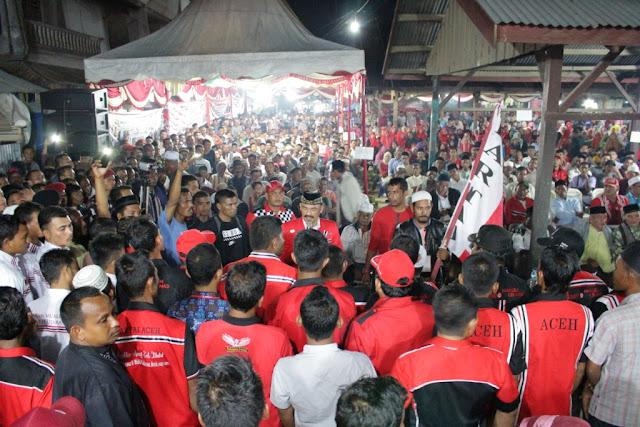 Tgk. Ni : Muzakir Manaf Pasti Menang di Nisam Aceh Utara