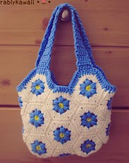 http://www.ravelry.com/patterns/library/flower-hexagon-bag