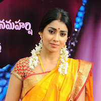 Gorgeous shriya @ pavithra movie launch