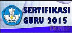 Kebijakan terbaru KEMDIKBUD terkait tentang sertifikasi tahun 2015