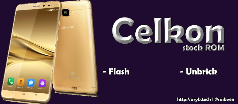 Celkon Android Stock ROM Firmware Flash File