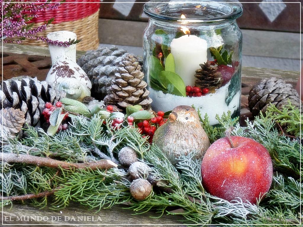 el mundo de daniela danielas welt weihnachtszeit auch im garten tiempo navide o tambien en. Black Bedroom Furniture Sets. Home Design Ideas