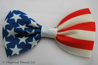 USA Stars & Stripes American Flag Bow Tie from Theatrical Threads Ltd