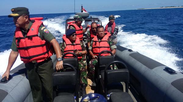 Panglima TNI Kunjungi Prajurit Penjaga Perbatasan Ujung Selatan Indonesia