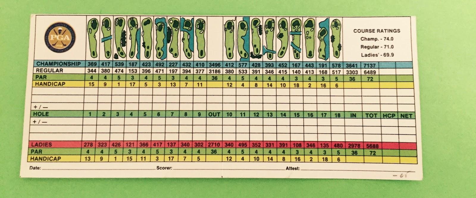 Callaway Gardens Golf Course Scorecard Fasci Garden