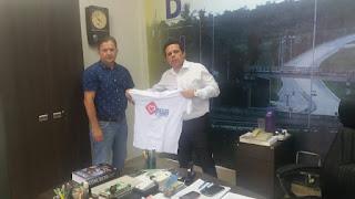 Coordenador do Movimento Amigos do Trânsito do Curimataú esteve com Superintendente do DNIT na PB