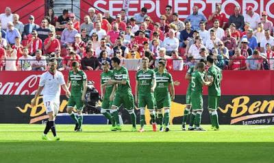 Precedentes ligueros del Sevilla FC ante el Leganés