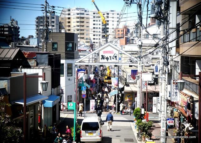calle comercial en yanaka