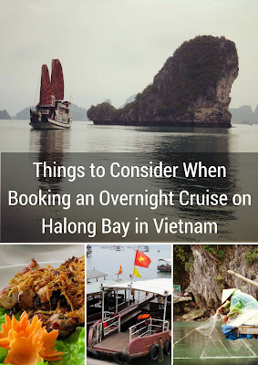 Things to Consider When Booking an Overnight Cruise on Halong Bay in Vietnam