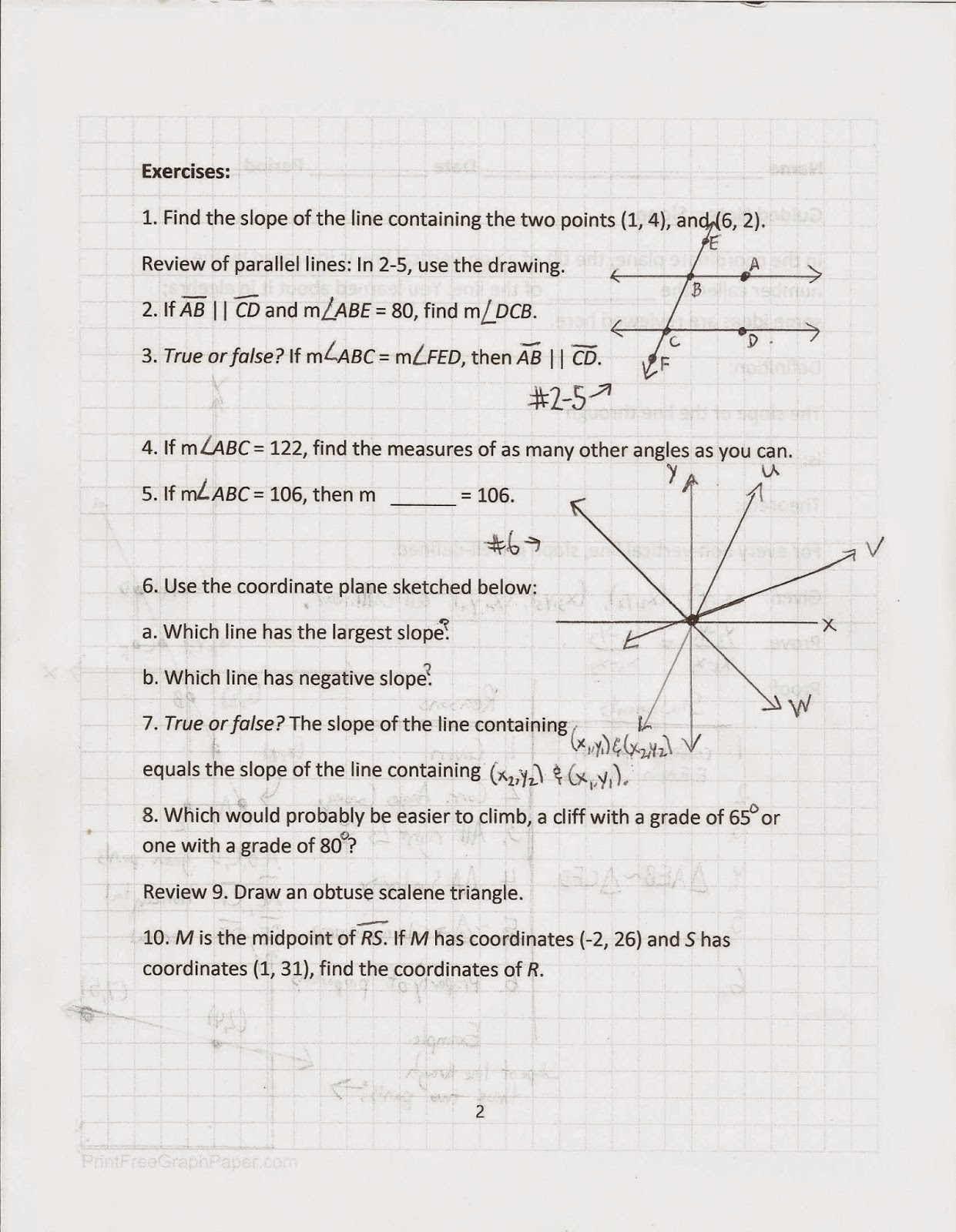 Worksheets Activity Worksheet Distance And Midpoint Exploration Answers geometry common core style january 2015 the trick for doing this will remind us of proof distance formula